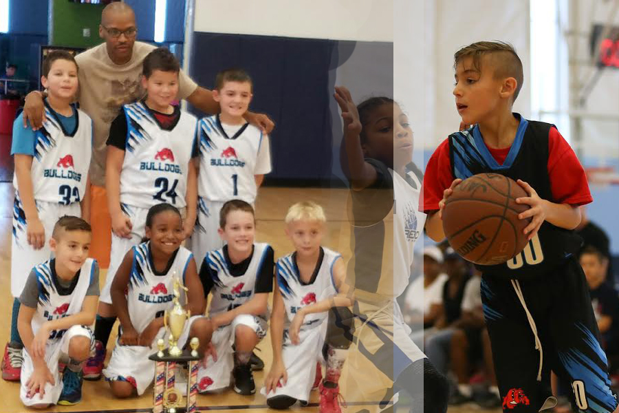 Club Basketball Arizona Team 3rd grade